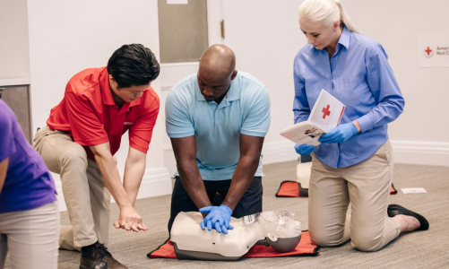 First aid: basic signs and resuscitation measures